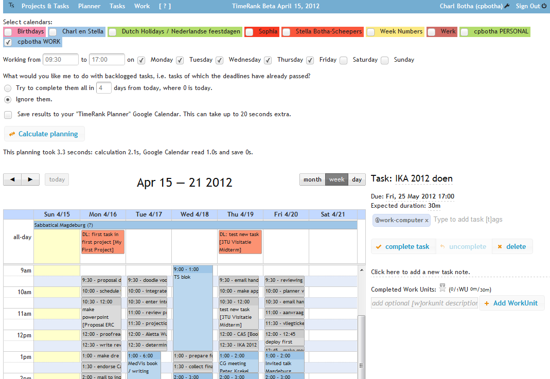 tasks and projects Improve your productivity with easy task management for all your projects see what tasks are due today on your own personal task list, across all your projects you can filter task lists by due date, owner, project and more you can simply and easily update the status of your tasks online or by.